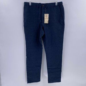 Muji linen pants mens sz XL NWT